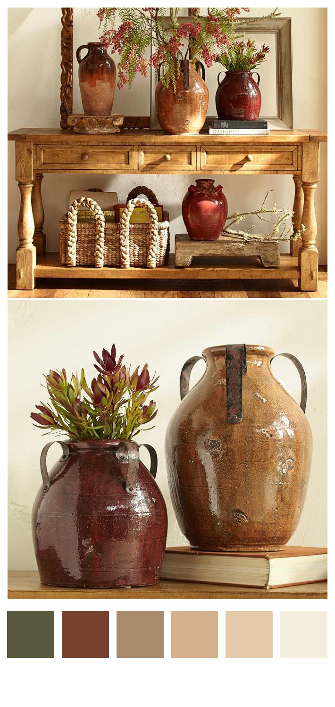 Marlow Rustic Vases