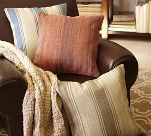 Tyler Sripe Rustic Pillows