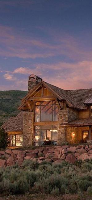 Rustic design ideas canadian log homes for Log home designs canada