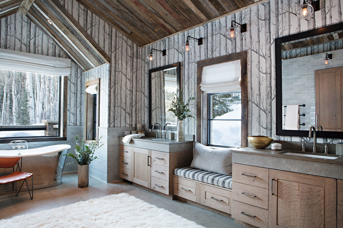 Rustic Design Ideas Log Homes & Farmhouse