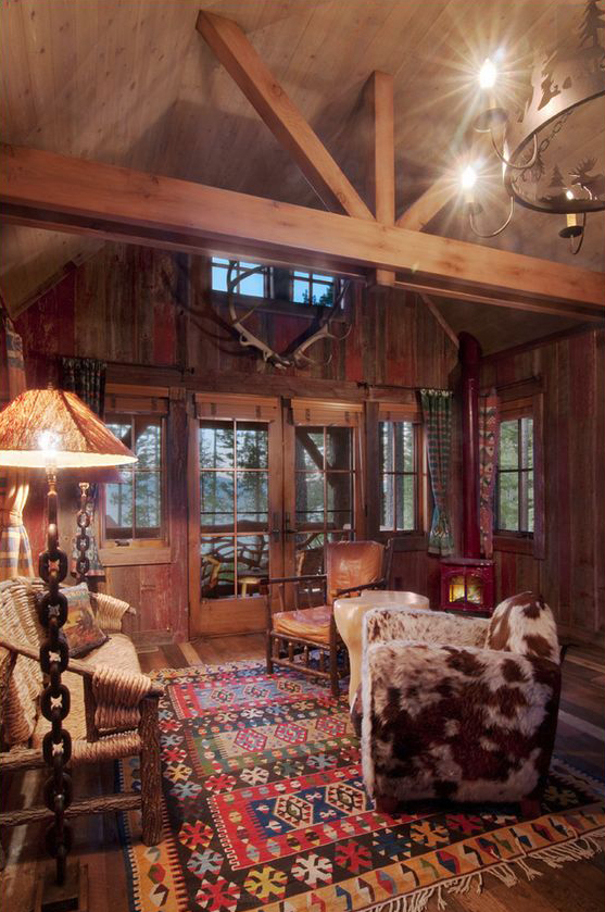 Ward-Young | Cozy Tahoe Cabin | Family Room