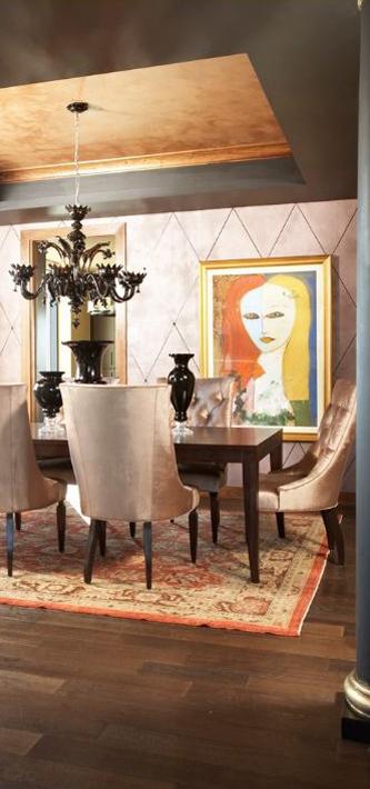 CIH Interior Designers Modern Dining Room