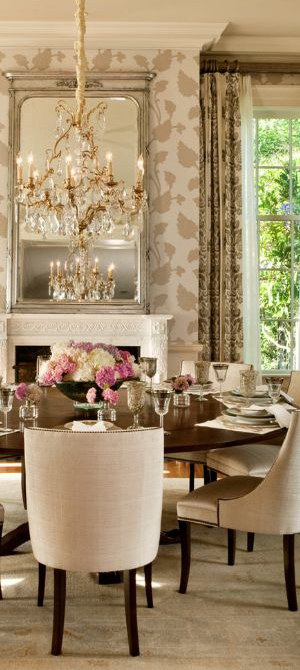 LGB Interiors Transitional Dining Room