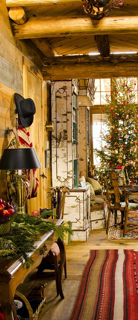 Rustic Christmas Decorating Ideas Country Decor