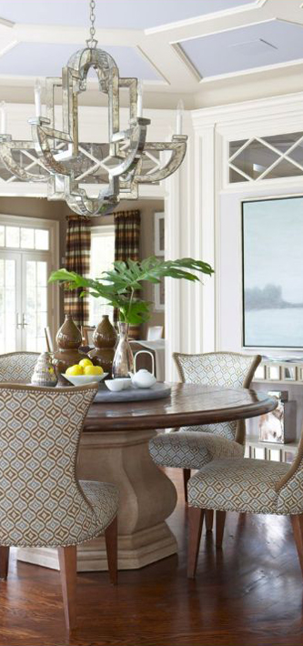 Cindy Rinfret Interior Design Transitional Dining Room
