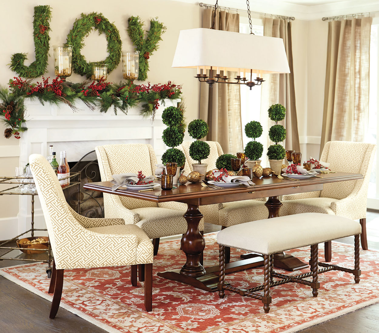 Rustic christmas decorating ideas country christmas decor for Decorating blogs canada