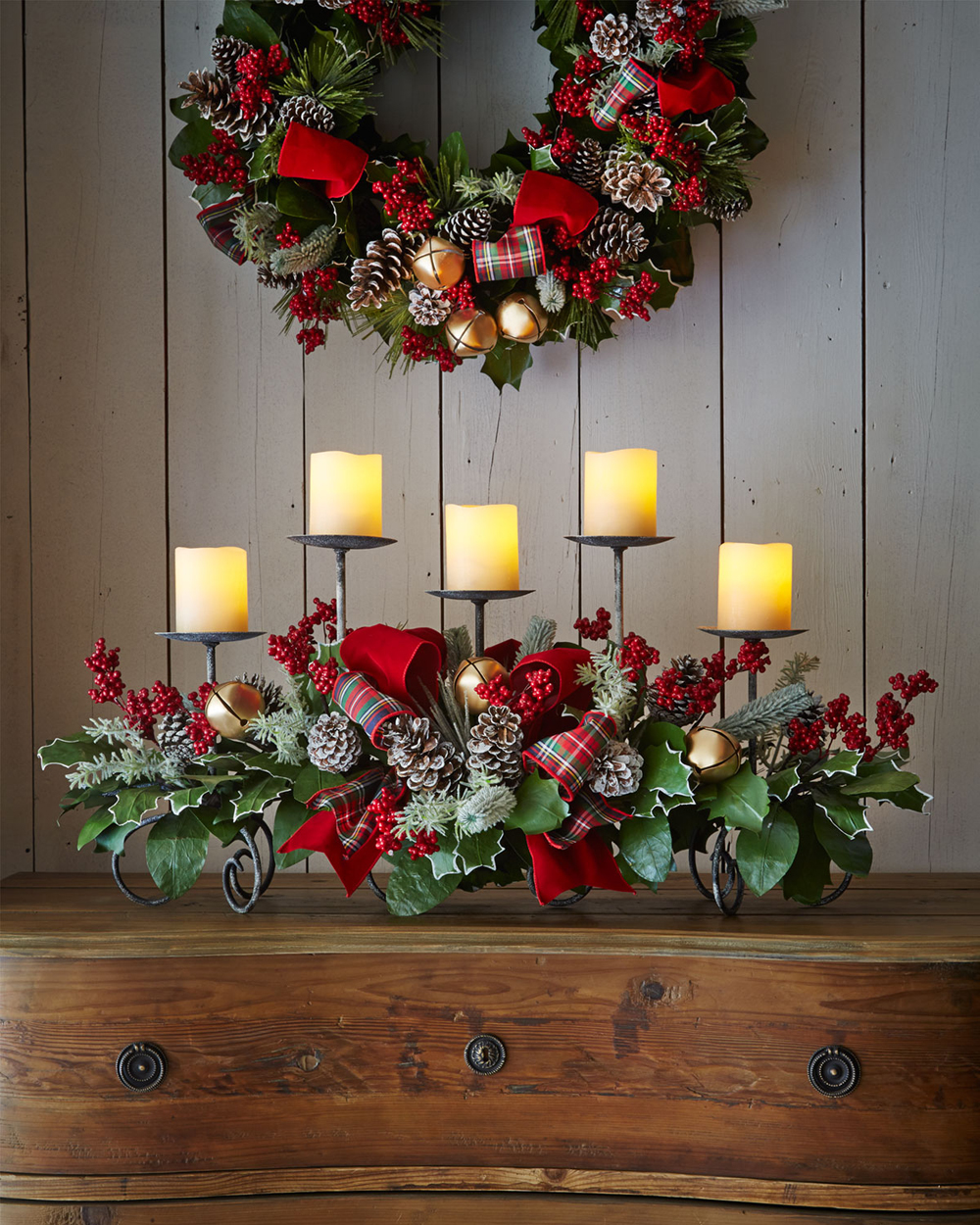Holiday Decorating Delectable Of Rustic Christmas Decoration Ideas Photo