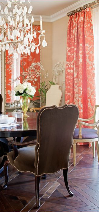 Jamie Herzlinger Interior Designer Traditional Dining Room