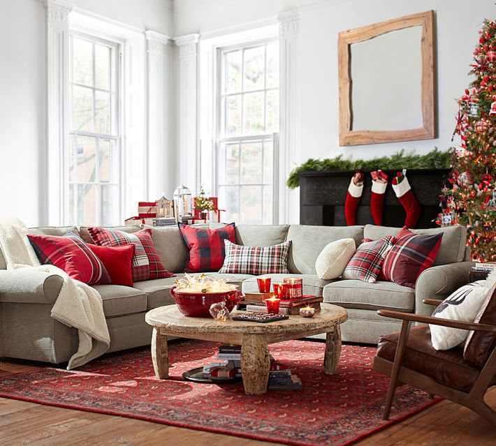 Rustic Decor - Christmas Pillows