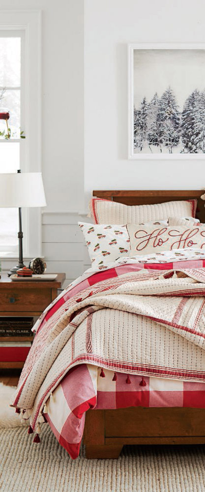 Nostalgic Christmas Bedding