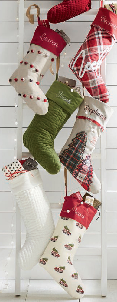Nostalgic Christmas Stockings
