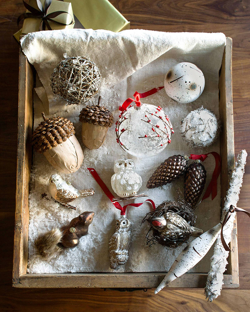 Woodland Ornament Set