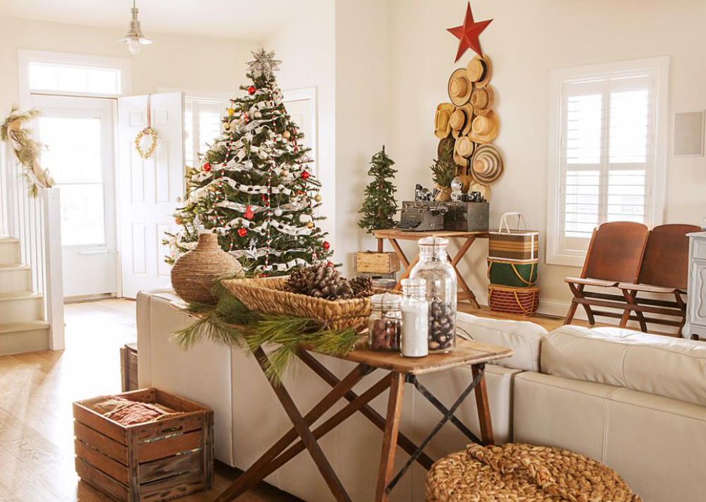 western home decor alberta rustic christmas decorating ideas canadian log homes 11820