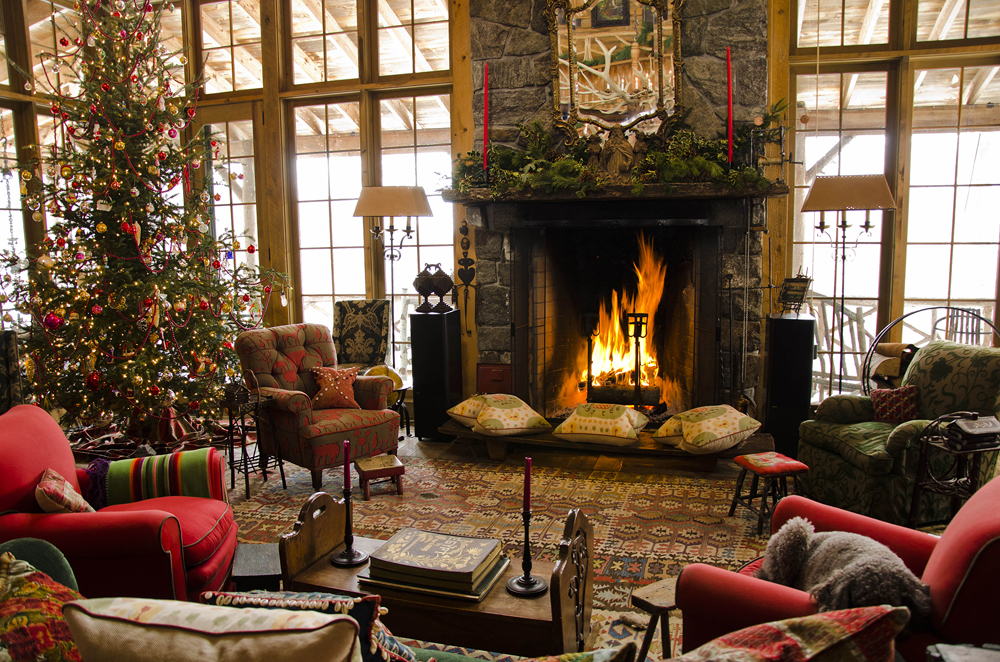 Cozy christmas home decor