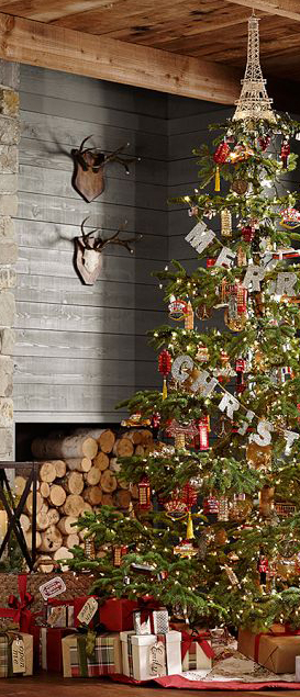 Rustic Country Christmas Tree
