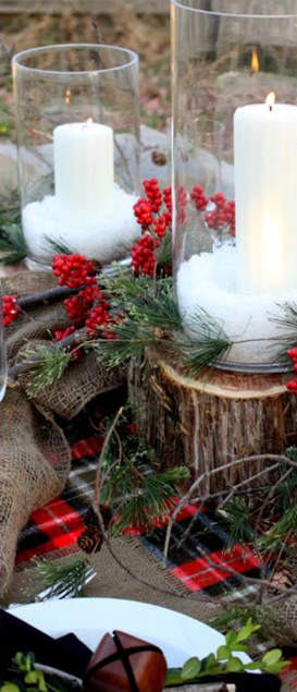 Winter Tablescape Sweet Something Design