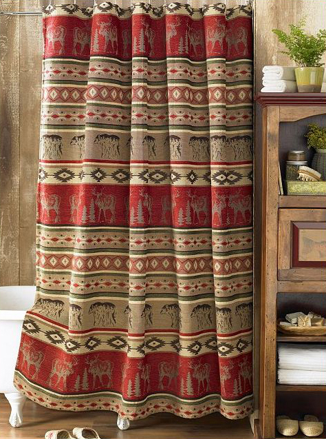 Adirondack Shower Curtain