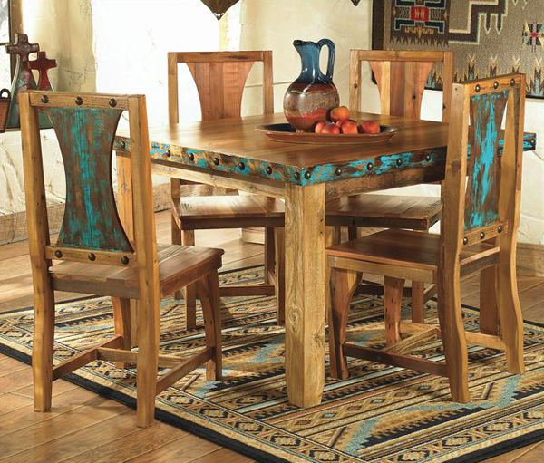 Azul Barnwood Table & Chairs