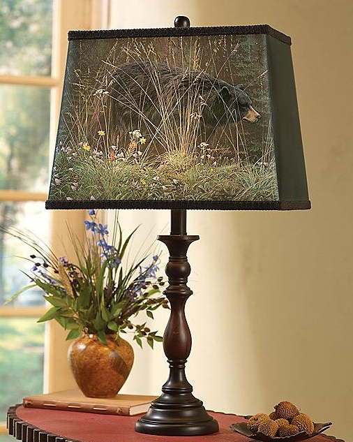 Bear Blossom Table Lamp