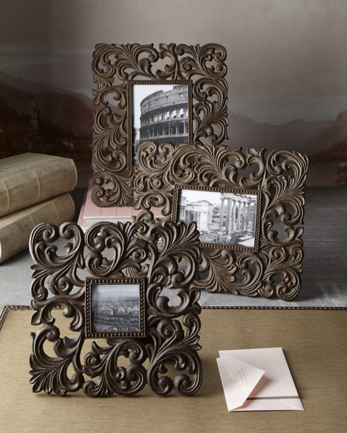 GG Collection Cast Aluminum Photo Frames