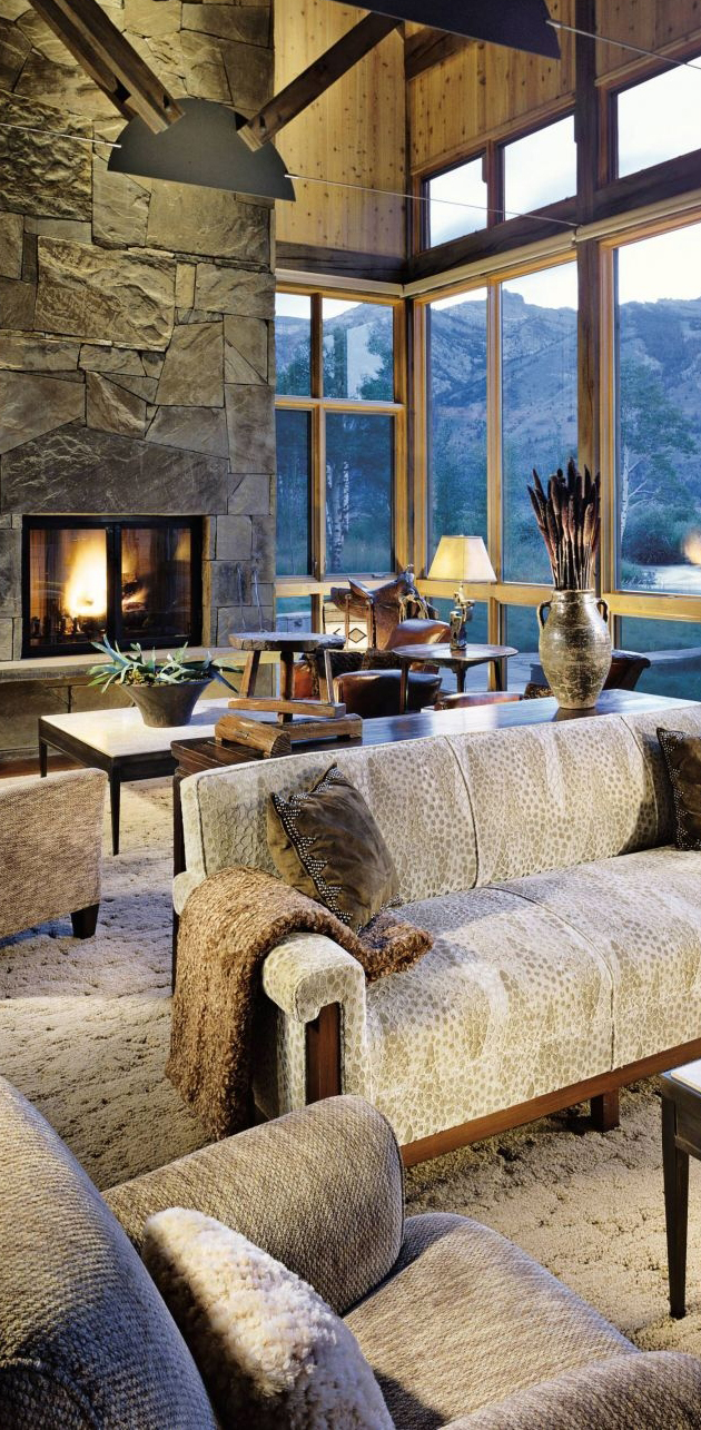 Cabin decor rustic interiors and log cabin decorating ideas for Decorating blogs canada