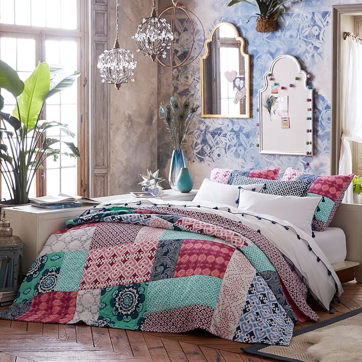 Bohemian Patchwork Quilt