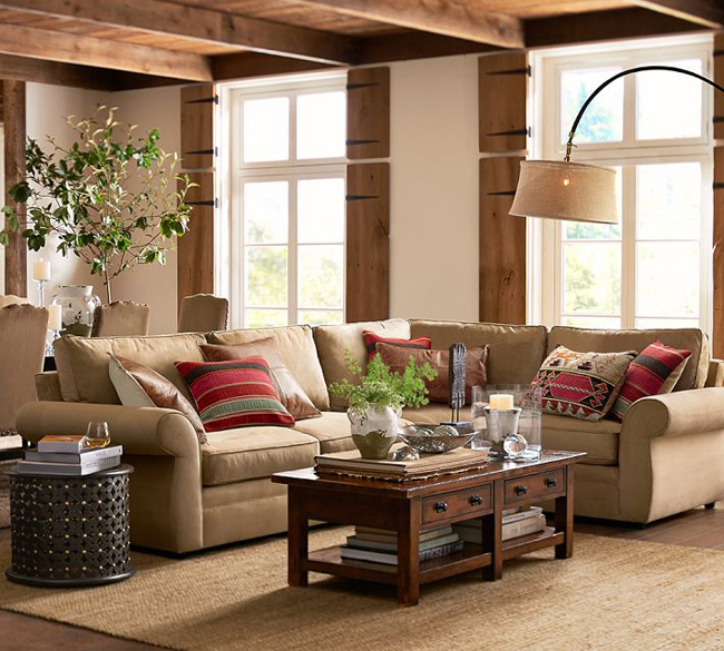 Pottery Barn Coffee Table Canada: Rustic Decor Fall Collection