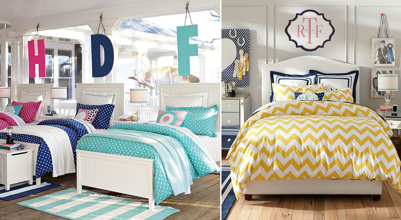 Girls bedding bedroom design ideas for Boys beach bedroom ideas
