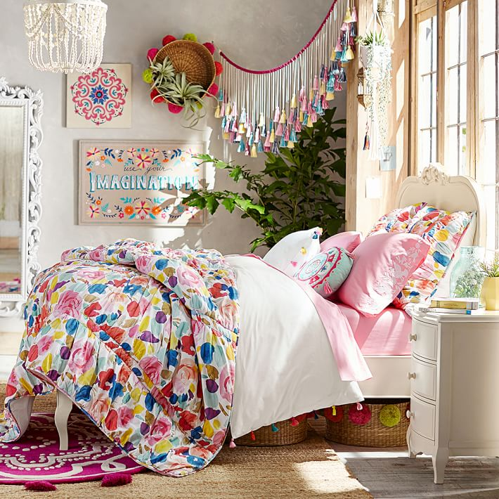 Multi Colored Girls Bedding