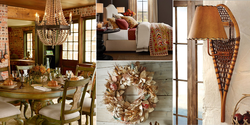 Rustic decor fall collection for Decorating blogs canada