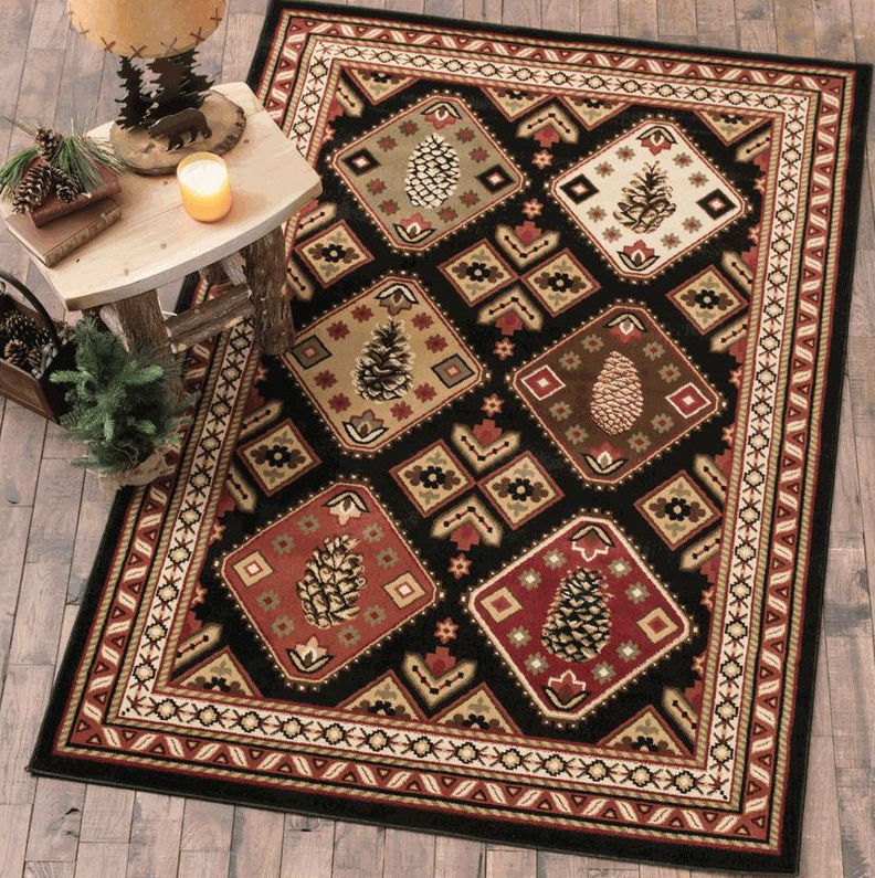 Pinecone Hills Rug Collection