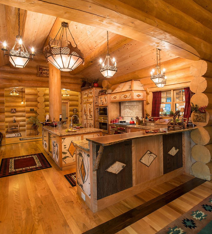 Log homes canadian log homes for Decorating blogs canada