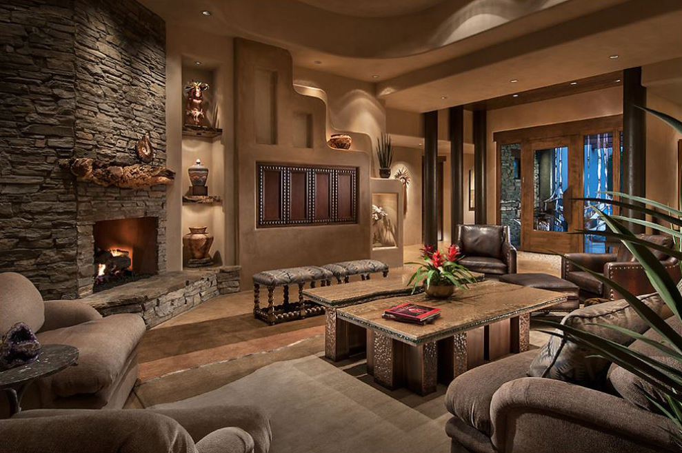 southwest contemporary design - Design Living Room