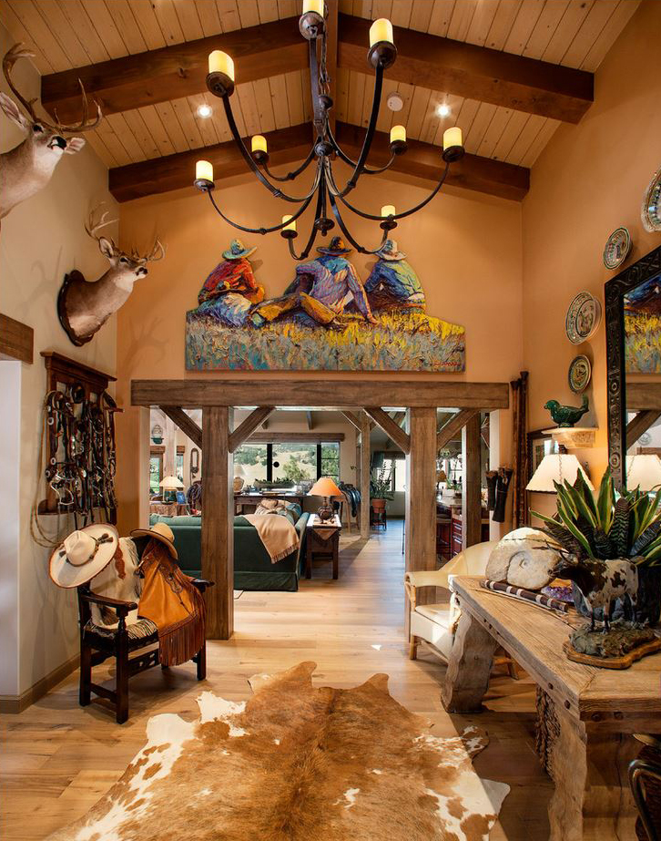 Southwestern decor design decorating ideas for Texas decorations for the home
