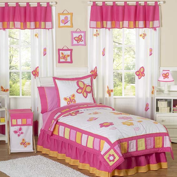 Butterfly Theme Bedrooms Design Ideas & Photos