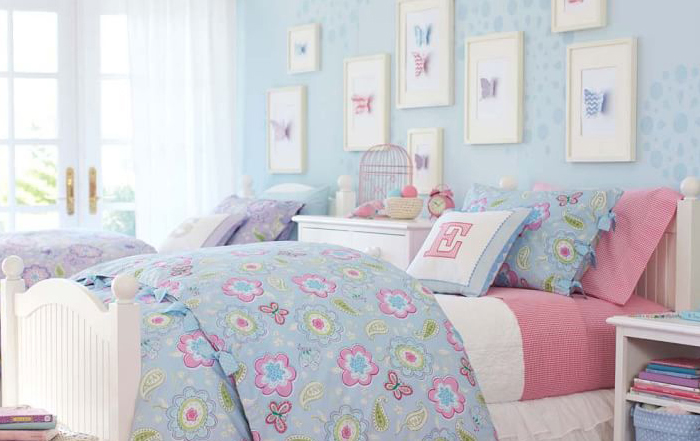 Kids Rooms: Butterfly Garden Bedding
