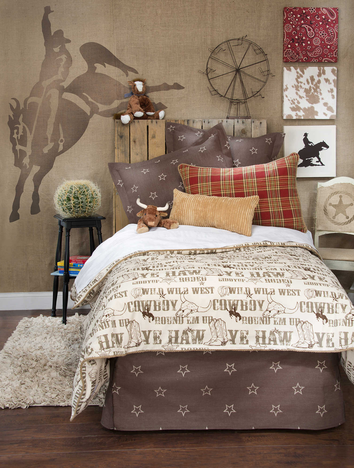 Cowboy theme bedrooms create a cowboy bedroom for Cowgirl bedroom ideas