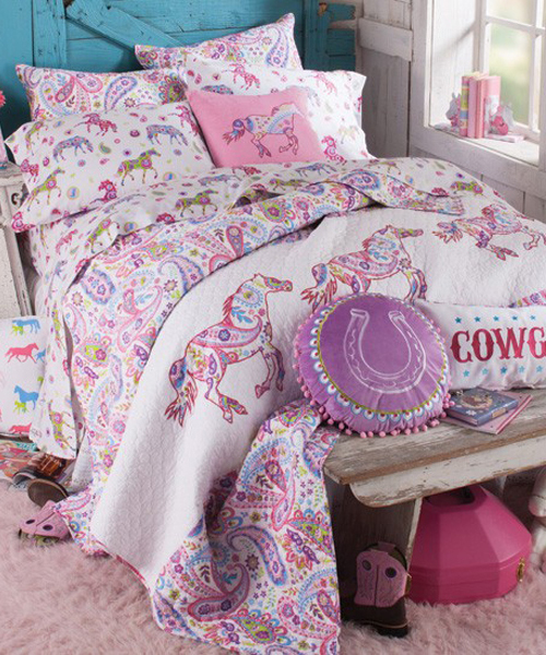 Paisley Pony Bedding