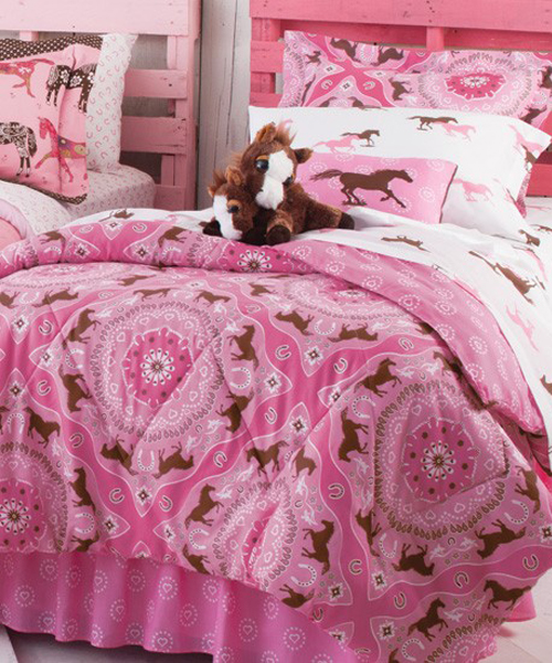 Pony Bandanna Little Cowgirl Bedding