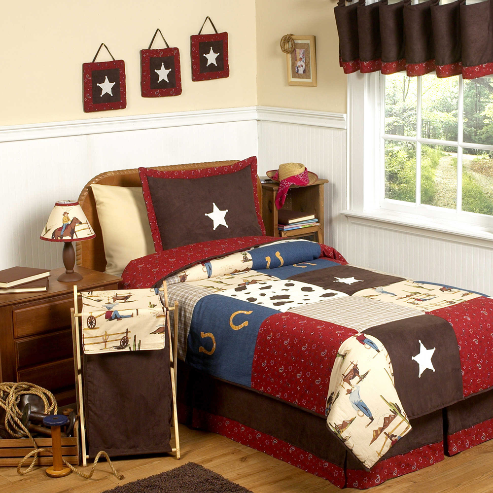 Cowboy theme bedrooms create a cowboy bedroom for Cowboy themed bedroom ideas