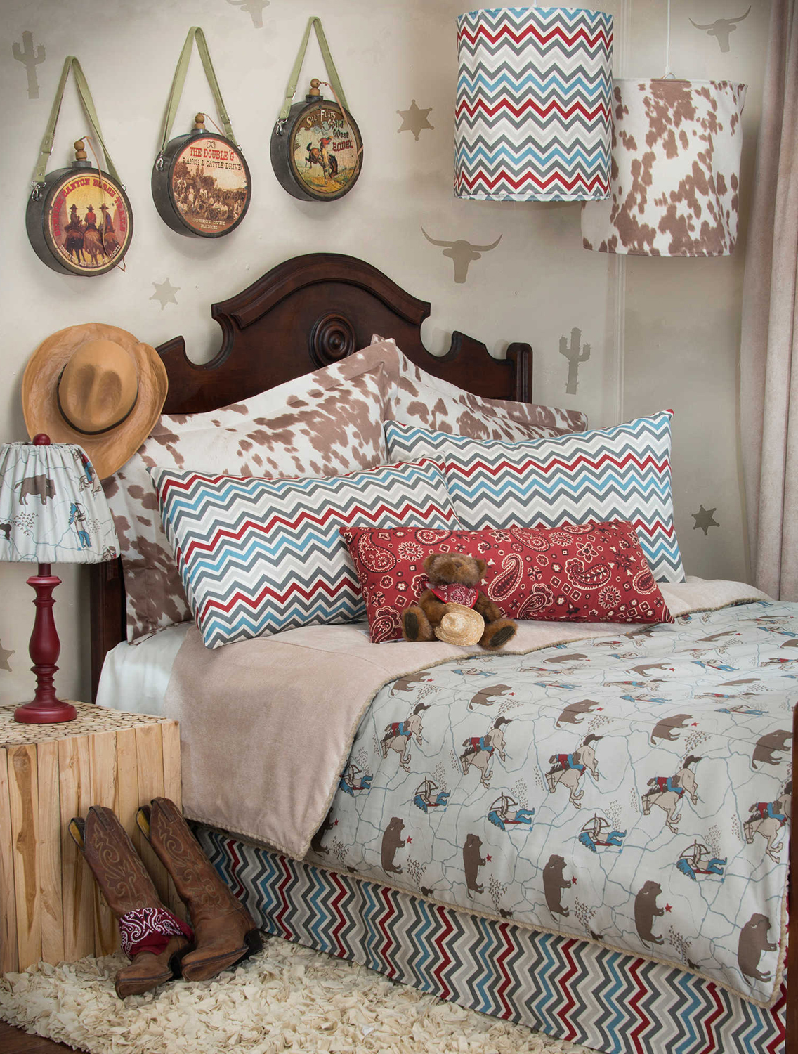 Western bedroom ideas for girls for Cowgirl themed bedroom ideas
