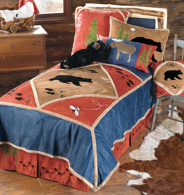 Kids Lodge Bedding