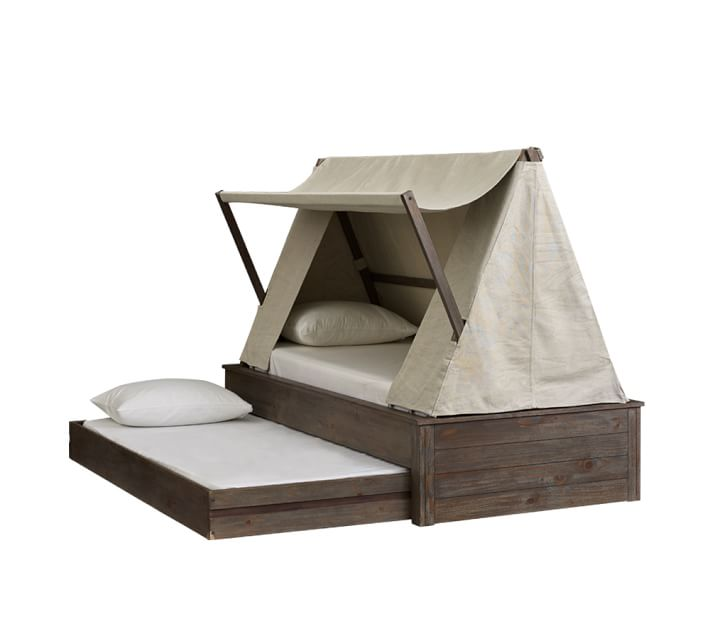 Wyatt Trundle Rustic Bed