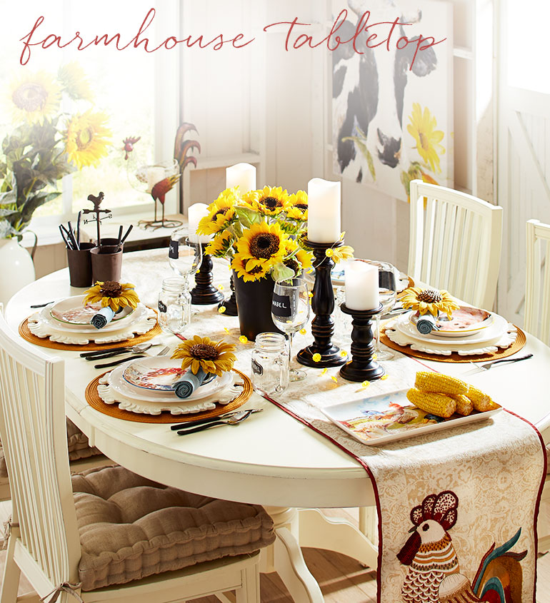 Farmhouse Tabletop