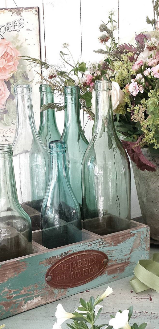 Rustic Farmhouse Bottles