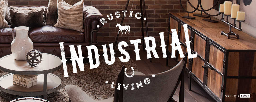 Rustic Industrial Living