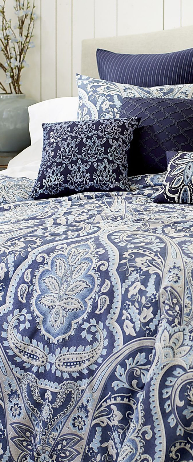 Indigo Bedding