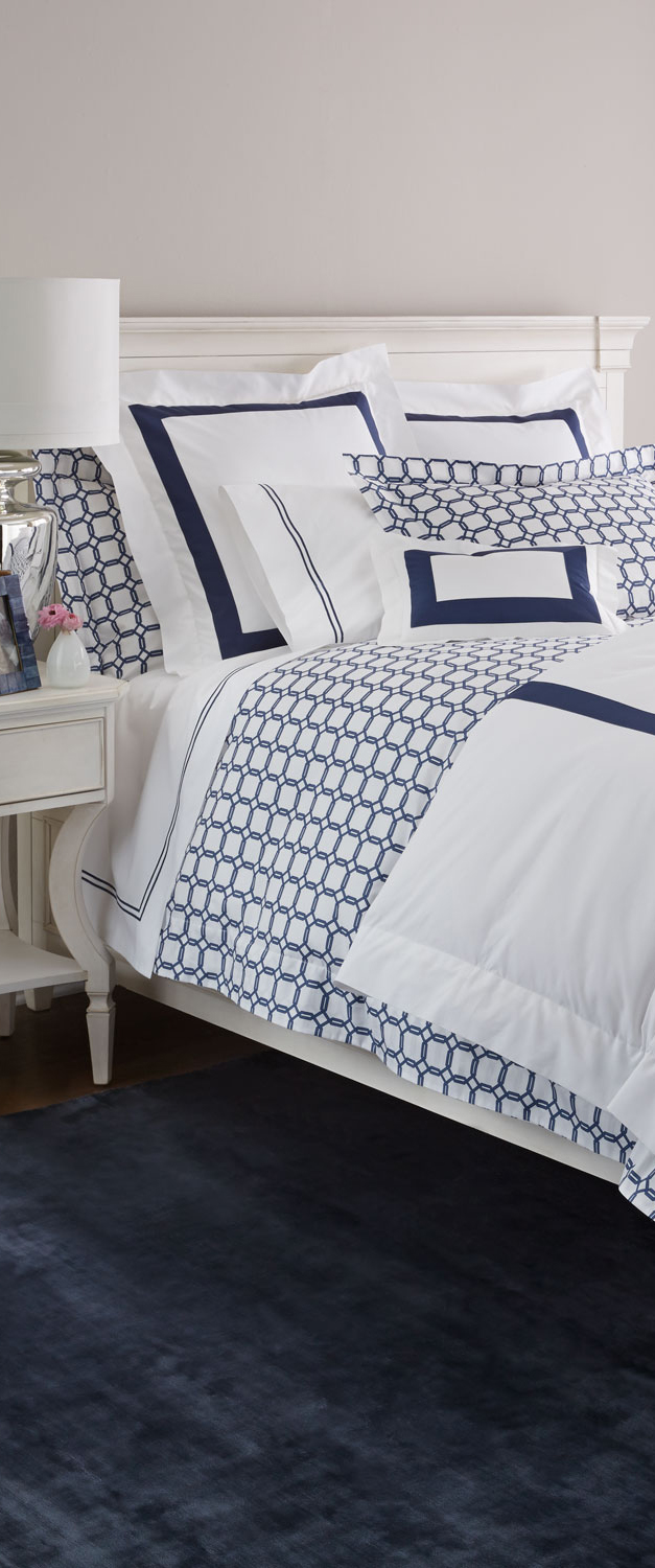 Sferra New Resort Duvet Cover