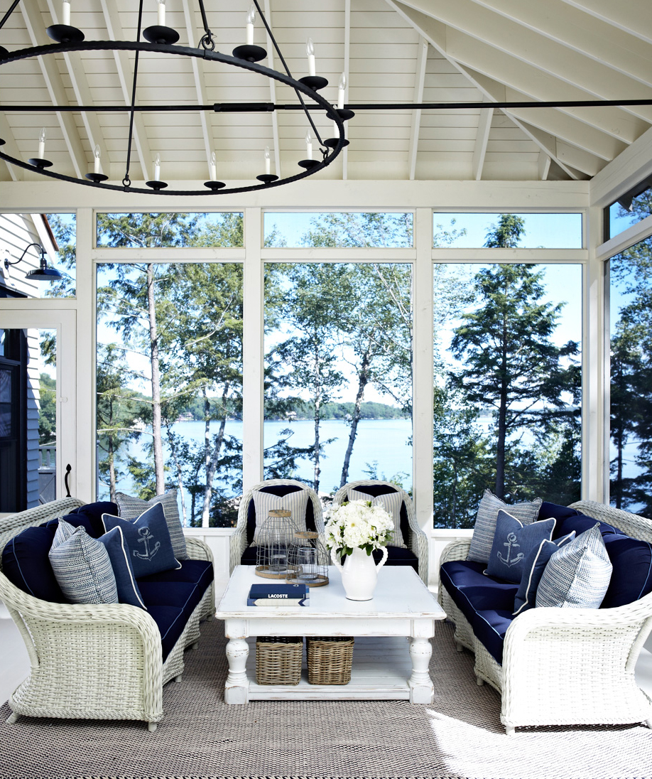 Lake Home Sun Room