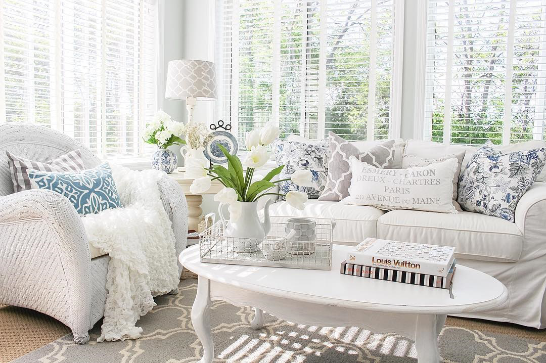 Cozy Country Sun Room